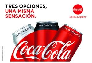 """""""Coca-Cola Sin Calorías"""": nueva opción para saborear el momento"""