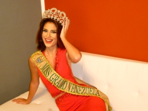 Débora Medina es Miss Grand Venezuela 2016